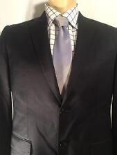 ERMENEGILDO ZEGNA 40L CLOTH SAKS FIFTH AVENUE MEN'S BLAZER SPORT COAT BLUE