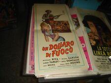 UN DOLLARO DI FUOCO locandina originale 1967 spaghetti western