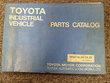 Heavy Equipment Manuals Books For Toyota And Forklift Sale Ebay. Toyota 5fgc18 5fgc20 5fgc23 5fgc25 Forklift Lift Truck Parts Catalog Manual. Toyota. Toyota Forklift 6hbe30 Wiring Diagram At Scoala.co