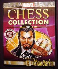 Eaglemoss Marvel Chess Collection Iusse #20 Mandarin  Magazine Only No Figure