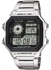Casio AE-1200WHD-1AVEF 43mm Caja Acero Inox.Correa Plata Reloj para Hombre