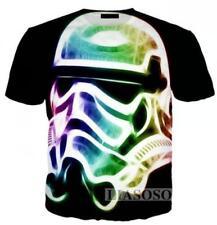 New Fashion Womens/Mens Star Wars Funny 3D Print T-Shirt