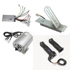 Brushless Motor+Controller+Throttle Grips Pedal Electric go-kart ATV 1800W 48V