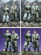 Alpine Miniatures 35038, hiver Panzer Crew Set (2 chiffres), échelle 1:35