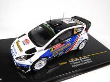 Ford Fiesta RS WRC #12 F.Delecour - rally- IXO 1:43 DIECAST MODEL CAR RAM571