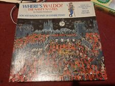 Great American Jigsaw Complete Puzzle - Where's Waldo The Nasty Nasties- New