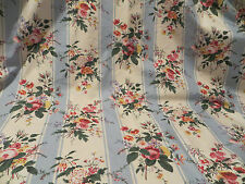 6+ Yds Vintage Cowton & Tout Effingham Retired Decorator Cotton Drapery Fabric