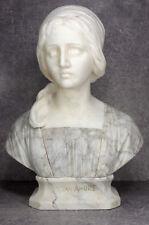 Buste Primo Amore Professor Giuseppe Bessi (1857-1922) bust marble marbre femme