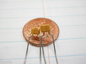 .0039 uF 50 volt Mono Capacitor (NOS,New Old Stock)(QTY 20 ea)R17