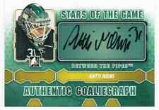 2013-14 BETWEEN THE PIPES AUTHENTIC GOALIGRAPH ANTTI NIEMI AUTO SAN JOSE SHARKS