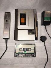 Vintage 1973 Sony Dictating Machine Secutive BM-11 Eames Era - Pre Walkman
