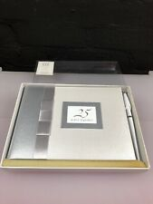 25th Silver Anniversary Guest Book With Pen Space 500 Entries New 4 Available