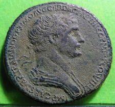 Marcus Vlpius  TRAIANUS (98 - 117 AD) Sestercio, CAYON-147 / RIC- 667-R, Bronze