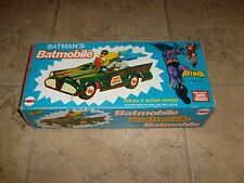 "1974 Vintage Original Mego BATMOBILE Batman & Robin 13"" PHOTO BOX  8"" Figure"