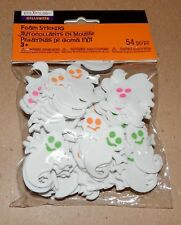 "Halloween Foam Stickers 54pc Creatology Ghosts 1 1/2"" x 1 1/2"" 170H"