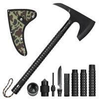 Camping Axe Multi-Tool Survival Portable Folding Hatchet Hammer Hunting Outdoor
