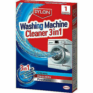 Dylon Washing Machine Cleaner 3 in 1 Cleans Desclaes Freshens Removes Limescale
