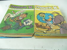 74  x Comic Mosaik - diverse Hefte  67  mal 1976-1990 - Z-1-2/2