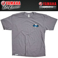 NEW X-LARGE YAMAHA 2017 MEN'S OPEN ROADS FENDER EMBLEM TEE GRAY CRP-17TOP-GY-XL