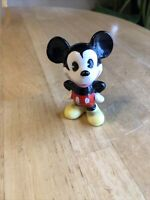 Vintage Mickey Mouse Ceramic Figure Walt Disney Productions - Japan MINT