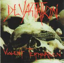 DEVASTATION - VIOLENT TERMINATION ( AUDIO CD in JEWEL CASE )