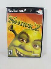 Shrek 2 (Sony PlayStation 2, 2004) Complete with Manual Tested and Works