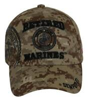 United States Marines Retired Shadow Digi-Desert Adjustable Cap