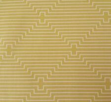 Birch Farm BTY Joel Dewberry FreeSpirit Chicken Coop Geometric Stripe Gold
