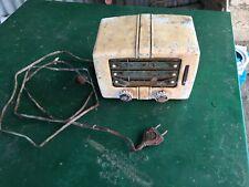 Radio Tsf Sectrad Djinn 48 1948 Phillips