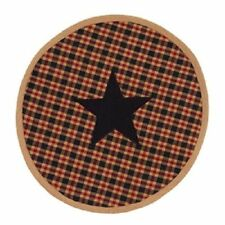 Country House new Jefferson round STAR table mat / nice