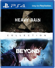 The Heavy Rain+Beyond 2 Souls Sony Playstation PS4 Collection-2 Spiele