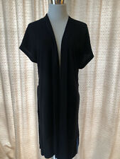The Group by Babaton Women Black Short Sleeve Cardigan Size S GUC!