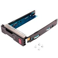WALI LFF SAS SATA HDD Tray Caddy for HP 651314-001 651320-001 Gen8 Gen9 3.5 LFF