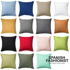 "IKEA GURLI Cushion cover in 15 colors colors 50x50 cm, 20 x 20 """