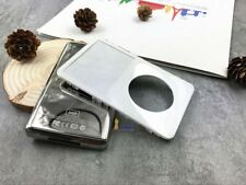 white front faceplate silver back rear housing case cover fr ipod 5th video 30gb