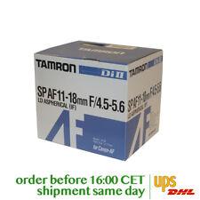Tamron 11-18mm F/4.5-5.6 Di II LD Aspherical IF SP AF for Canon AF