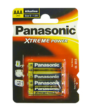 Panasonic Alkaline AAA Battery | 4-Pack