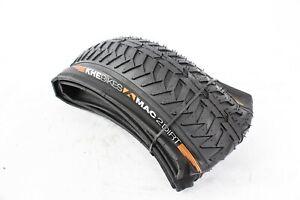 """Khe Bmx Bike Tyre  Folding Premium Mac2+ , Black, 20""""X2.30"""", Dirt"""