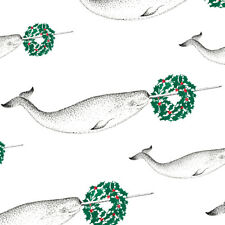 2-Pack: 28x30 inch Sheet: Narwhal Wrapping Paper -Christmas Gift Whale Odd Rare