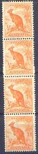 Australia 1942 ½d KANGAROO (Wmk, perf 15x14) COIL JOIN STRIP 4 Unh Mint SG 179b