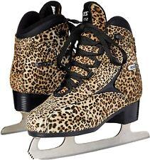 Roces Womens Ice Skate Pardus Light Brown/Black 450650-00001 (Women's Size 8)