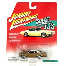 Johnny Lightning Super 70's Series 1971 71 Plymouth Duster Car Gold Diecast 1/64