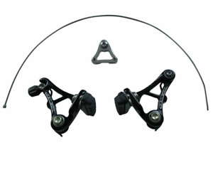 Genetic Cyclocross Cantilever Brakes - Front Rear - Silver