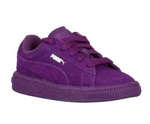 NEW Puma Suede Kids Imperial Purple YOUTH Sizes Sneaker Shoe 355110 70