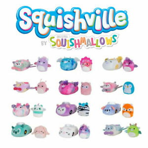 Squishville Mini 5cm Squishmallow and Vehicle Choose Your Favourite