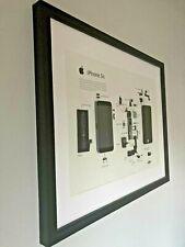 iPhone 5S - Deconstruction art framed