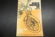 Motorcycle Trouble Shooting Guide 1960s 1970s   2 and 4 Stroke