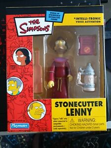 Stonecutter Lenny The Simpsons World of Springfield Mailaway Exclusive MISB
