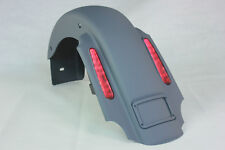 GRAY PAINT CVO STYLE REAR FENDER FOR 1993-2008 HARLEY TOURING CVO LIGHT HARNESS