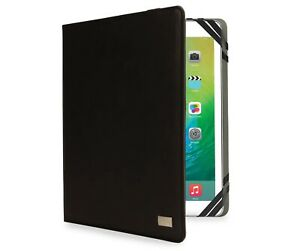 """Black 7"""" - 8"""" Universal Tablet / iPad Cover Folio Case By iHome"""